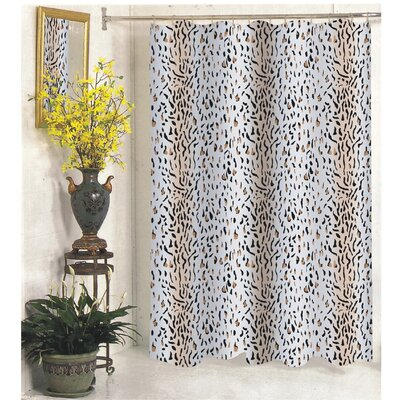 Low Price Carnation Home Fashions Hailey Polyester Shower Curtain Size: Extra  Long