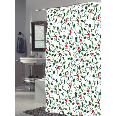 Deck The Halls Shower Curtain