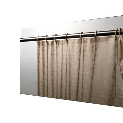 PEVA Shower Curtain Color: Brown