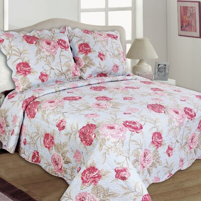 Lexi Reversible Quilt Set Size: Full/Queen