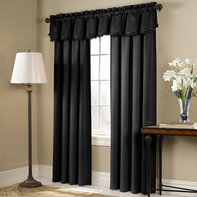 "United Curtain Co. Bold Rod Pocket Curtain Single Panel (Set of 2) - Size: 84"" H x 54"" W, Color: Gold at Sears.com"