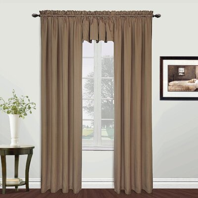 """United Curtain Co. Metro Window Treatment Collection - Size: 84"""" H x 54"""" W x 0.2"""" D, Color: Burgundy at Sears.com"""
