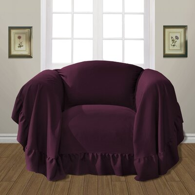 Westwood Armchair Slipcover Upholstery: Burgundy