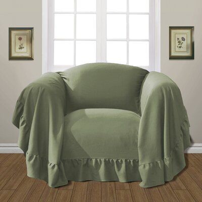 Westwood Armchair Slipcover Upholstery: Sage