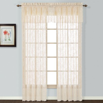"""United Curtain Co. Windsor Window Treatment Collection - Size: 63"""" H x 56"""" W x 0.2"""" D, Color: White at Sears.com"""