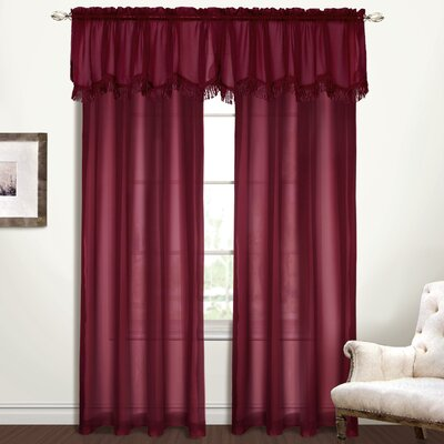"""United Curtain Co. Yvonne Window Treatment Collection - Size: 63"""" H x 56"""" W x 0.2"""" D, Color: Sage at Sears.com"""