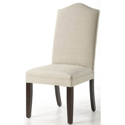 Parsons Chair (Set of 2) Upholstery: Linen Duck Natural