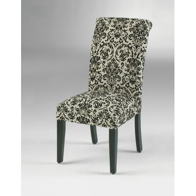 Parsons Chair (Set of 2) Finish: Cappuccino