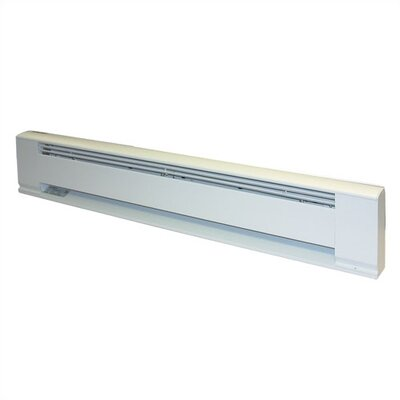 TPI Architectural Wall Mounted Electric Radiant Baseboard Heater - Power: 1250 watt / 208 volt / 6 amp / 60