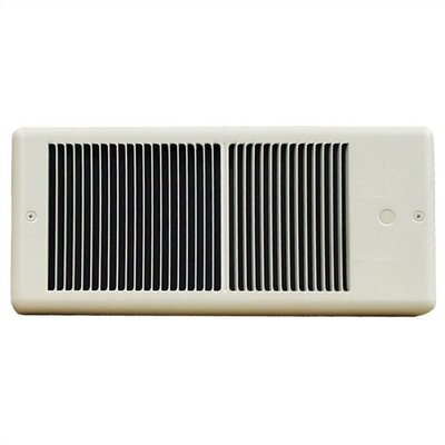 TPI Low Profile Fan Forced Wall Electric Space Heater - Color / Power: White / 5,120 btu at Sears.com