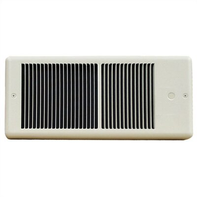 TPI Low Profile Fan Forced Wall Electric Space Heater with Wall Box - Color / Power: White / 5,120 btu at Sears.com