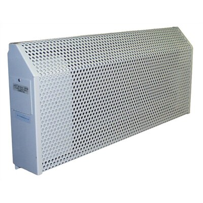 TPI Institutional 2,000 Watt Space Heater with Thermostat - Power: 480V, Thermostat: In-Built Double Pole Thermostat