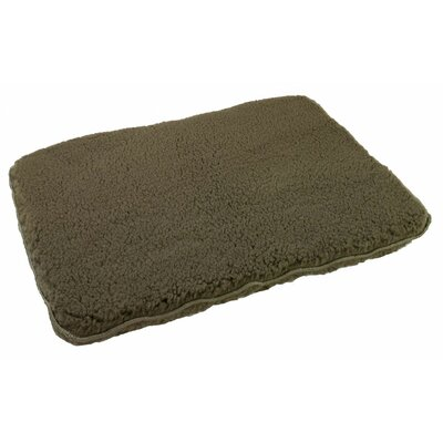 Brute Dog Pillow Color: Olive, Size: 35 L x 23 W