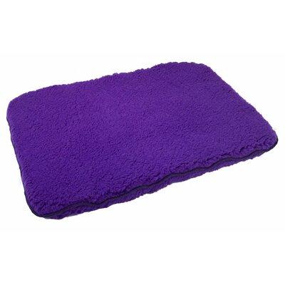 Brute Dog Pillow Color: Purple, Size: 35 L x 23 W