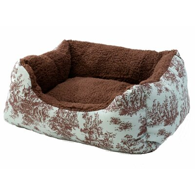 Cuddler Bolster Dog Bed Size: Small (19 L x 16 W)