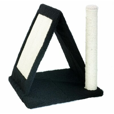 Purrvillion Chalet Woven Fleece Scratching Post