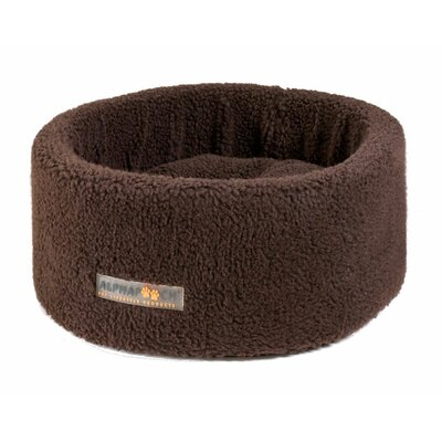 Alphapurr by AlphaPooch Siesta Cat Bowl Size: Medium (20 L x 20 W), Color: Coco