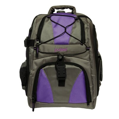 Camera/Laptop/Ipod Backpack Color: Purple
