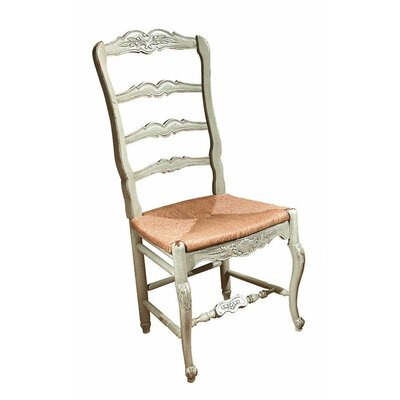 New Country French Dining Chair Color: Connoisseur - Muslin, Accents: Gold