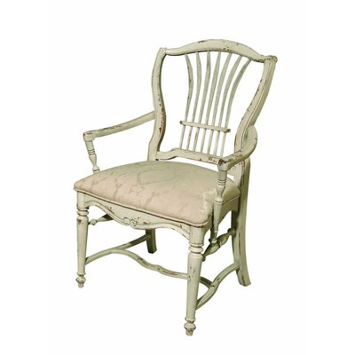 Wheat Dining Chair Color: Connoisseur - Muslin, Accents: Gold
