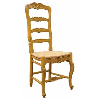 Country French Dining Chair Color: Classic Studio - Graystone, Accents: Champagne