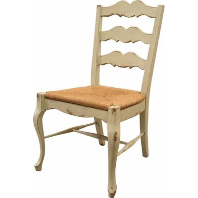 French Cottage Dining Chair Color: Classic Studio - Graystone, Accents: Silver