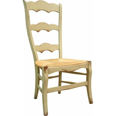 Isabella Dining Chair Color: Connoisseur - Muslin, Accents: Silver