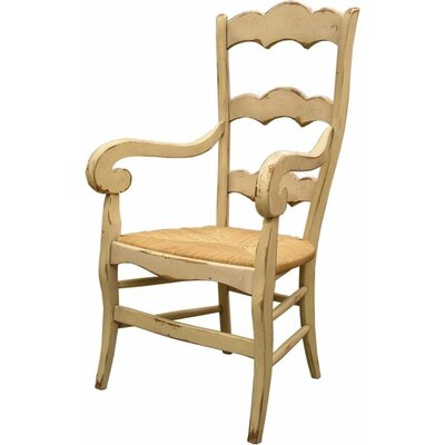 Isabella Dining Chair Color: Connoisseur - Muslin, Accents: Champagne