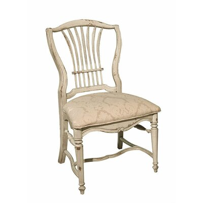 Wheat Dining Chair Color: Connoisseur - Muslin, Accents: Silver