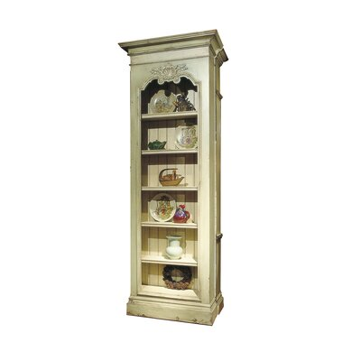Continental Curio Cabinet Color: Classic Studio/Antique Honey, Accent: Silver