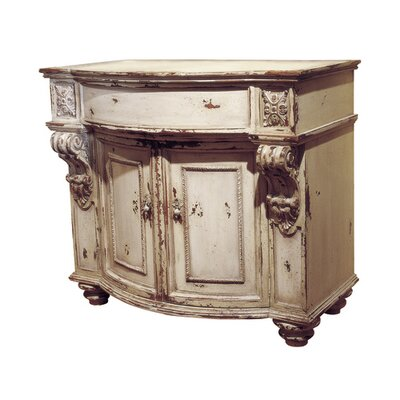 Stafford Commode 38 Bathroom Vanity Finish: Connoisseur/Classic White, Accent Color: Silver