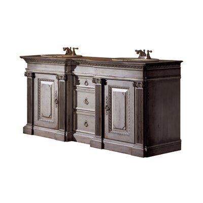 Classical 72 Double Bathroom Vanity Set