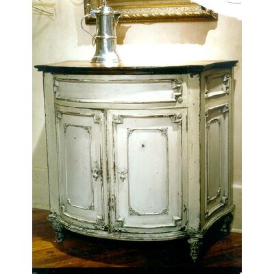 Oxfordshire Commode 37 Bathroom Vanity Finish: Connoisseur/Muslin, Accent Color: Champagne