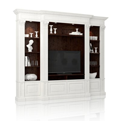Neoclassical Entertainment Center