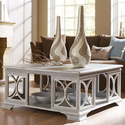 Sea Island Coffee Table Color: Connoisseur - Devonshire/Silver