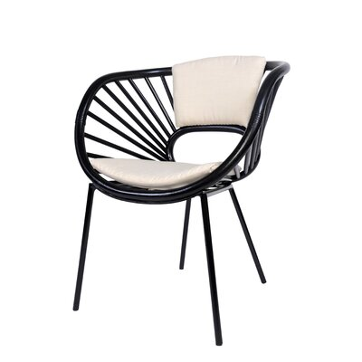Aura Armchair Finish: Black