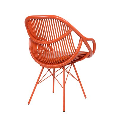 Stockholm Arm Chair Finish: Citrus Orange
