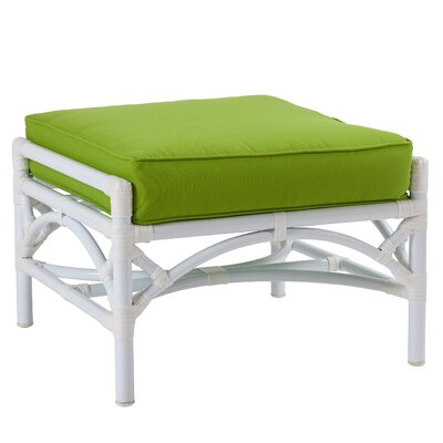 Chippendale Ottoman with Cushion Fabric: Buttercup