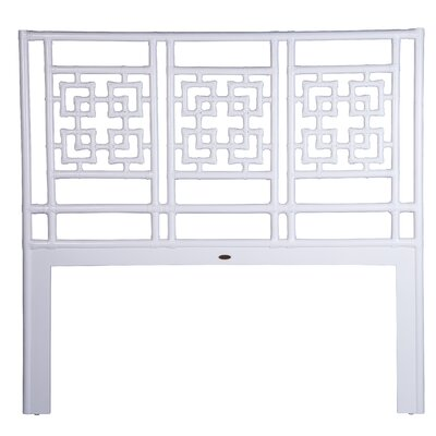 Palm Springs Open-Frame Headboard Size: King, Finish: White