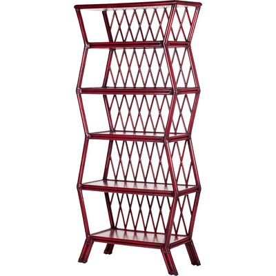 Hollywood 80.5 Bookcase Finish: Aged Chinese Red Product Photo 722