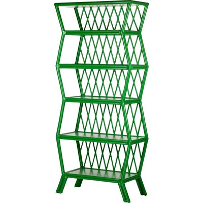 Hollywood 80.5 Bookcase Finish: Green Apple Product Image 88