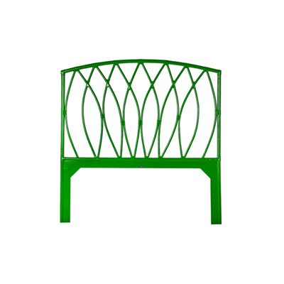 Royal Palm Open-Frame Headboard Finish: Green Apple, Size: King
