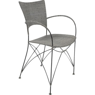 Zen Kyoto Dining Arm Chair Finish: Rubbed Gray