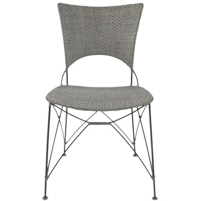 Zen Kyoto Dining Side Chair Finish Rubbed Gray