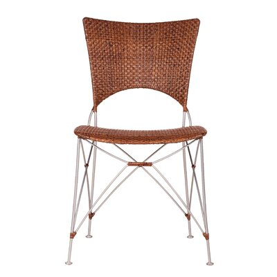 Zen Kyoto Dining Side Chair Finish: Pecan