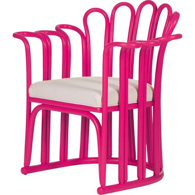 Calla Occasional Armchair Finish: Hot Pink