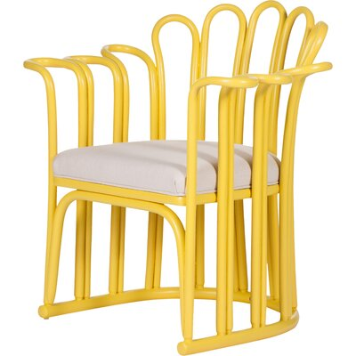Calla Occasional Armchair Finish: Sunflower Yellow