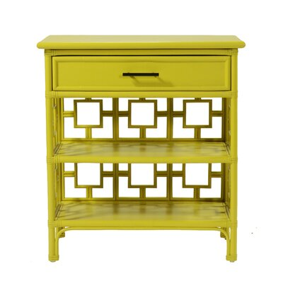 Sobe End Table with Storage Color: Sunflower Yellow