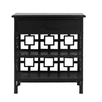 Sobe End Table Finish: Black