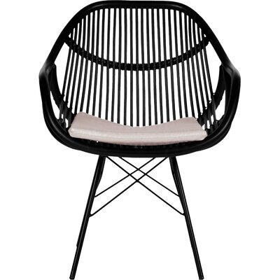 Stockholm Arm Chair Finish: Black